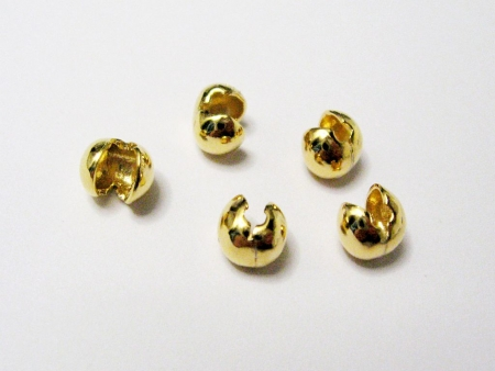 10 mm diamantiert Kugelschlie/ße 925er Silber vergoldet